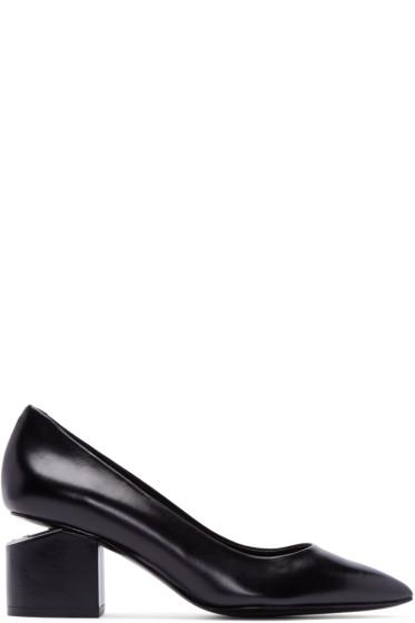 Alexander Wang - Black Leather Simona Heels