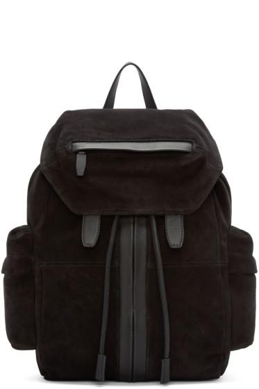 Alexander Wang - Black Suede Marti Backpack