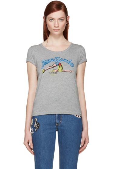 Marc Jacobs - Grey Pinup Girl T-Shirt