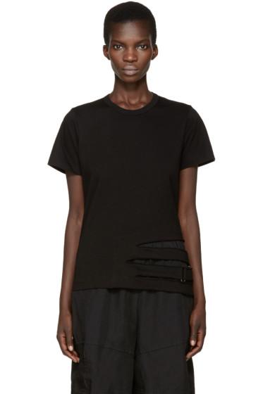 Comme des Garçons - Black Straps T-Shirt