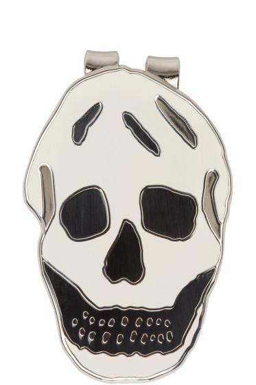 Alexander McQueen - Silver Skull Money Clip