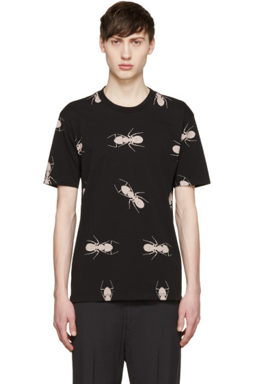 Paul Smith - Black Ant Print T-Shirt