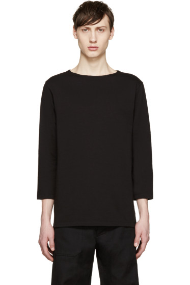 Paul Smith - Black Boatneck T-Shirt