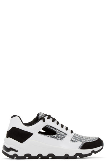 Opening Ceremony - Black & White Leather Almma Sneakers