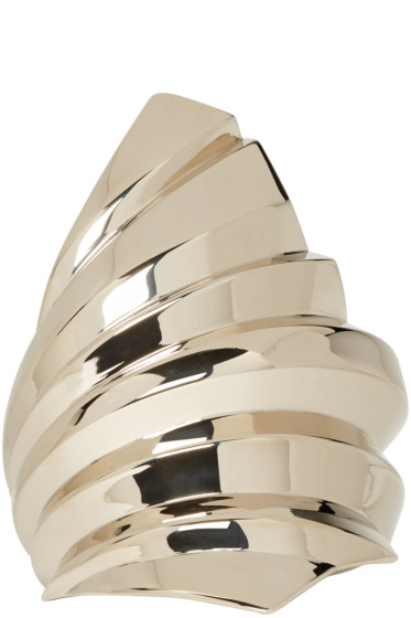 Givenchy - Gold Plisse Cuff
