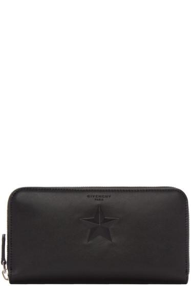 Givenchy - Black Star Long Pandora Wallet