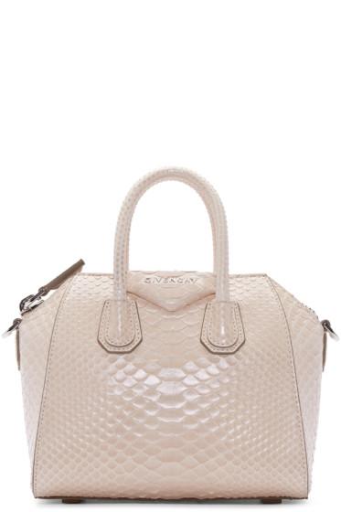 Givenchy - Pink Python Mini Antigona Bag