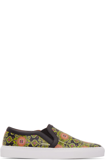 Givenchy - Multicolor Carpet Print Slip-On Sneakers