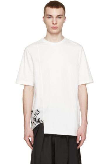 3.1 Phillip Lim - White Ginkgo Print T-Shirt