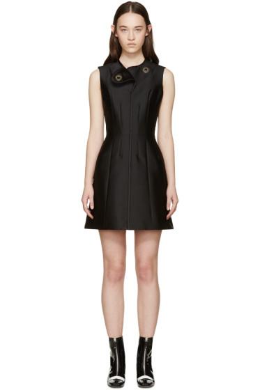 Carven - Black Satin Dress