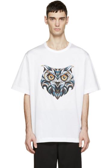Juun.J - White Owl Andreas Preis Edition T-Shirt