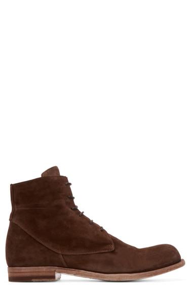 Officine Creative - Brown Suede Boots