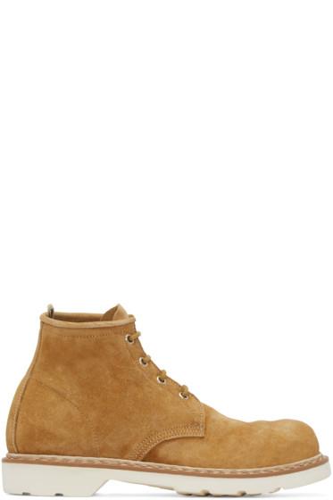 Officine Creative - Camel Suede Marais Boots