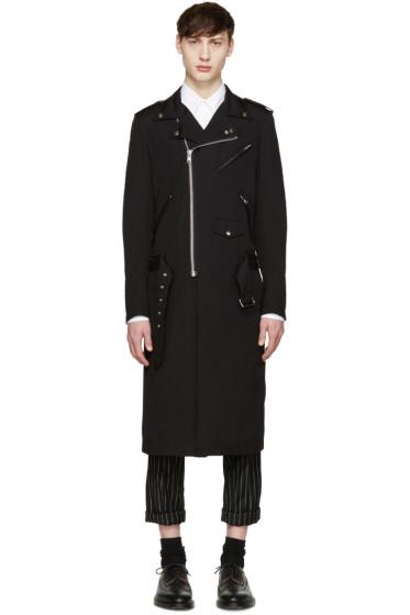 Comme des Garçons Homme Plus - Black Extended Rider Coat