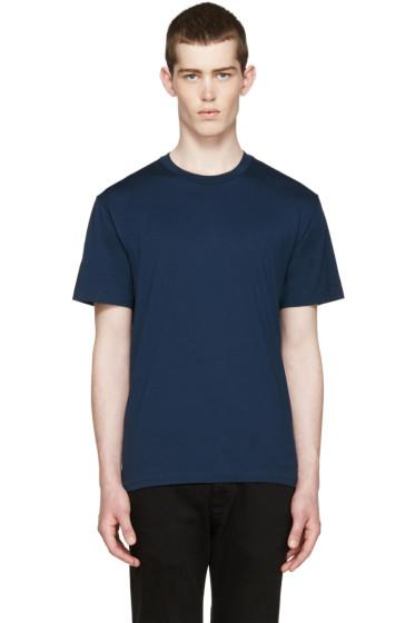 BLK DNM - Indigo Cotton T-Shirt