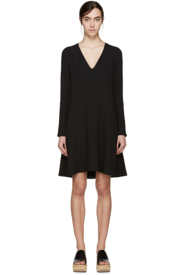 See by Chloé - Black V-Neck Dress