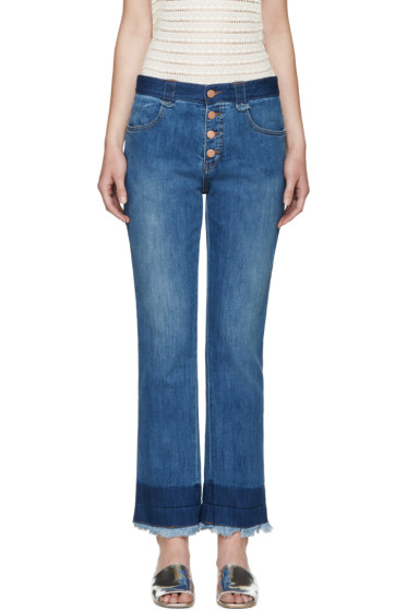 See by Chloé - Indigo Dip-Dyed Jeans