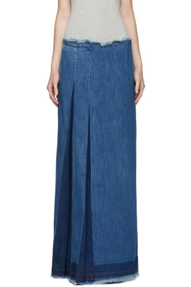 See by Chloé - Indigo Denim Skirt