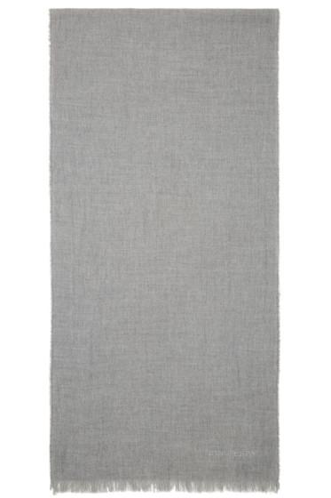Burberry Prorsum - Grey Wool & Cashmere Scarf