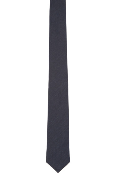 Burberry Prorsum - Navy Silk Tie