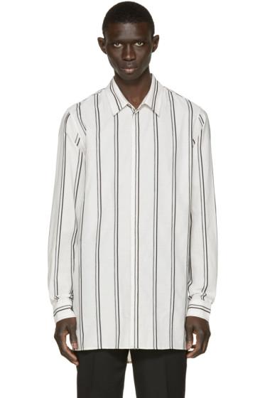 Ann Demeulemeester - Off-White Striped Shirt