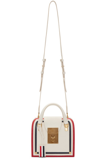 Thom Browne - Off-White Mini Mrs. Thom Bag