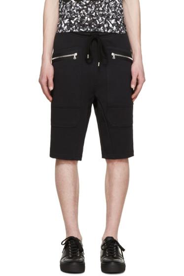 Markus Lupfer - Black Classic Jogger Shorts