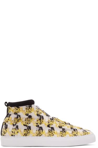 Diemme - Yellow & Black Fontesi Linton High-Top Sneakers