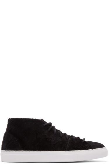 Diemme - SSENSE Exclusive Black Rough Mohawk Mid-Top Sneakers