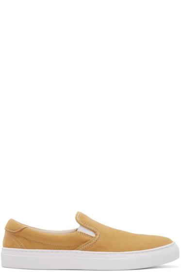 Diemme - Yellow Garda Clip Coast Slip-On Sneakers