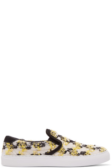 Diemme - Yellow & Black Garda Linton Slip-On Sneakers