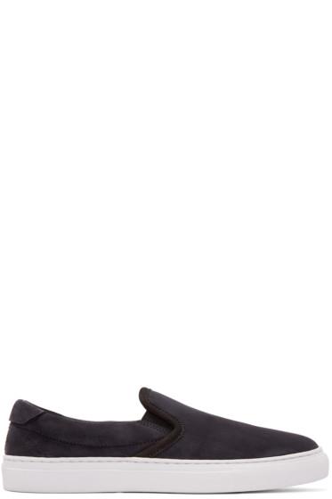 Diemme - SSENSE EXCLUSIVE Black Garda Slip-On Sneakers