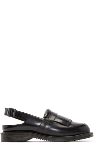 Dr. Martens - Black Fringed Valentine Shoes