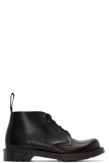 Dr. Martens - Black Five-Eye Hampton Boots