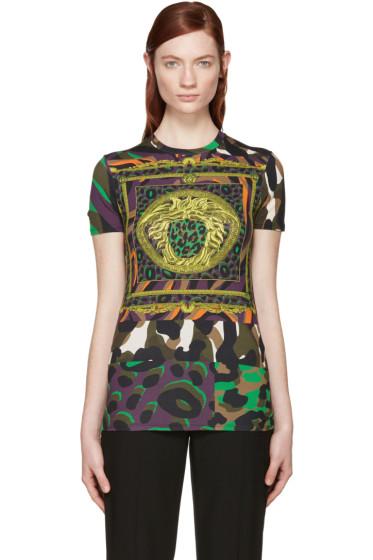 Versace - Multicolor Wild Medusa T-Shirt