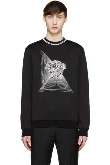 Versace - Black Medusa Rendering Sweatshirt