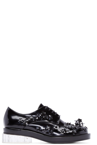 Simone Rocha - Black Beaded Oxfords