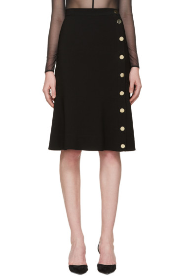 Altuzarra - Black Buttoned Xavier Skirt