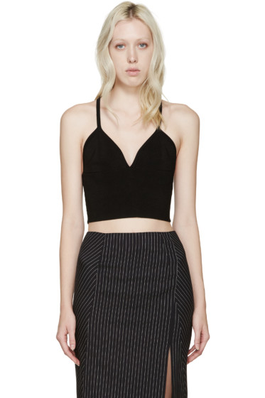 Dion Lee - Black Knit Evening Tank Top