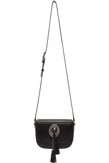Saint Laurent - Black Leather Kim Shoulder Bag