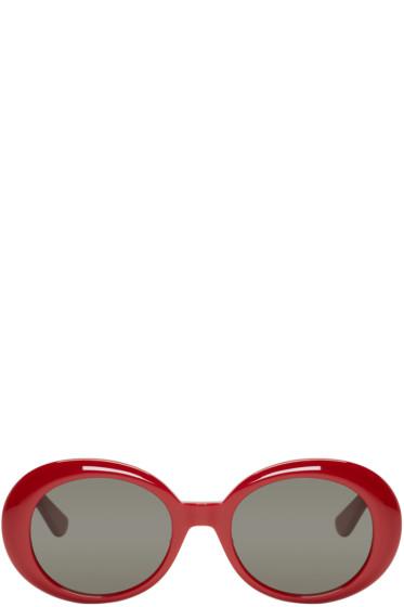 Saint Laurent - Red SL 98 California Sunglasses