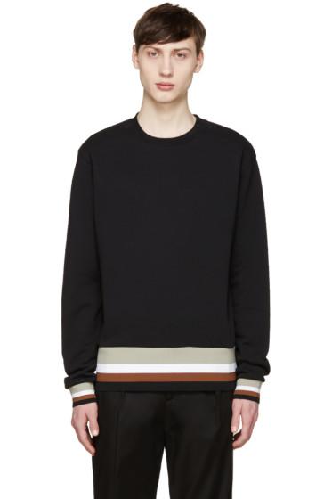 MSGM - Black Striped Band Pullover