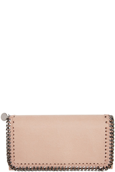 Stella McCartney - Pink Falabella Shaggy Deer Wallet