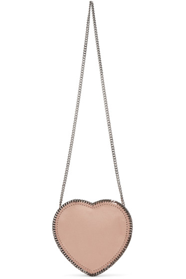 Stella McCartney - Pink Falabella Heart Shoulder Bag