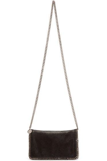 Stella McCartney - Black Falabella Shaggy Deer Bag