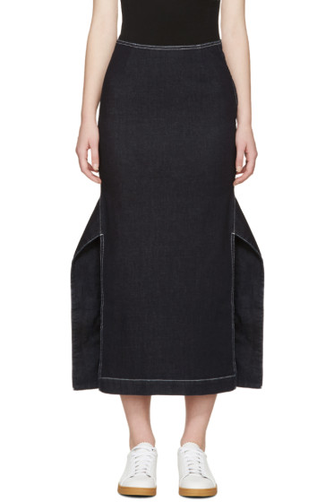 Stella McCartney - Indigo Denim Elisa Skirt