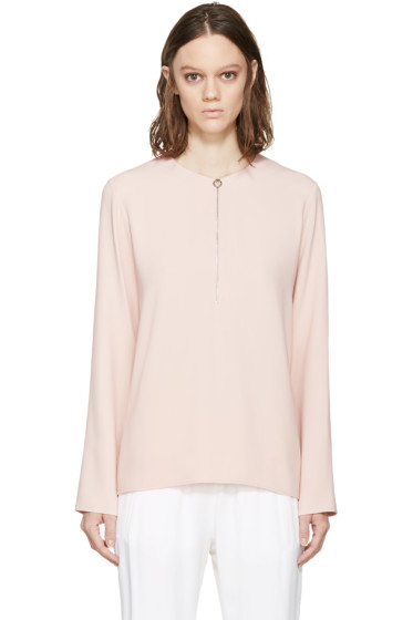 Stella McCartney - Pink Zippered Arlesa Blouse