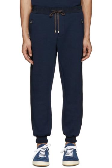Umit Benan - Navy Scuba Jersey Lounge Pants