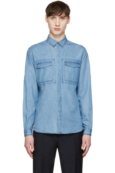 Valentino - Blue Denim Shirt