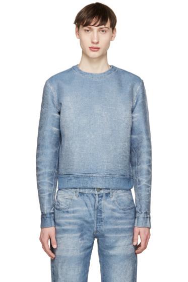 Calvin Klein Collection - Blue Denim Pullover
